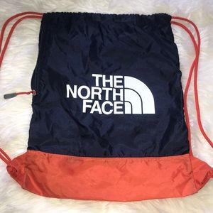 North face drawstring back pack